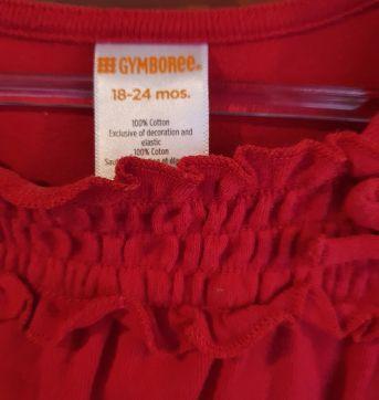 Blusa de Moletom Laço Gymboree - 18 a 24 meses - Gymboree