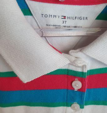 Camisa Polo Tommy Hilfiger - 3 anos - Tommy Hilfiger
