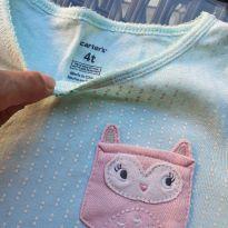 Pijama Carter`s Corujinha - 4 anos - Carter`s