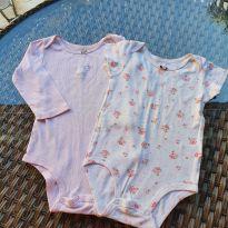 Kit de Dois Bodys Carter`s Gatinha e Flor - 12 a 18 meses - Carter`s