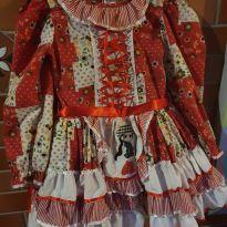 Vestido de Festa Junina Picurica