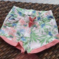 Shorts Moletom Florido Zara Baby - 24 a 36 meses - Zara Baby
