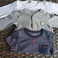 3 Bodies Carter`s, Baby Gap e Baby Club - 12 a 18 meses - Baby Gap