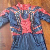 Fantasia Homem Aranha Sulamericana - 7 anos - MARVEL