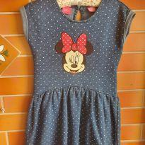 Maravilhoso Vestido Minie Disney Importado - 4 anos - Disney