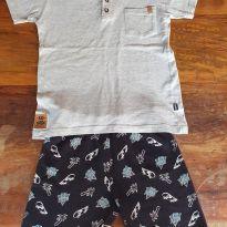 Lindo Conjunto de Camiseta Kidstok e Bermuda Kyle - 8 anos - Kidstok e Kyle & deena (usa)