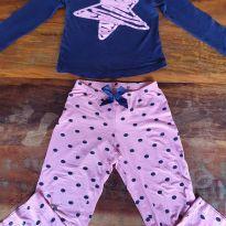 Conjunto Pijama Estrela Importada - 8 anos - Importada
