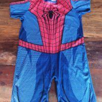 Fantasia Homem Aranha - 8 anos - Não informada