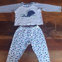 Pijama Baleia e Crocodilo Early Days - 18 a 24 meses - Early  Days