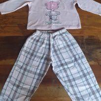 Pijama Rosemari Ursinho - 2 anos - Fantasia Rosemari