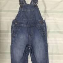 Macacão jeans The Children's Place tamanho 6 a 9 meses - 6 a 9 meses - The Children`s Place