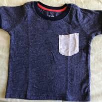 Camiseta de malha manga curta Carter's 9 meses - 9 meses - Carter`s