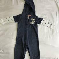 Macacão com capuz Carter's tamanho 12 meses - 1 ano - Carter`s