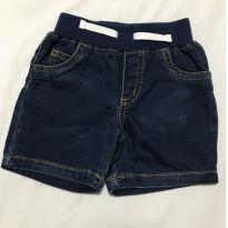 Short jeans escuro Carter's tamanho 18 meses - 18 meses - Carter`s