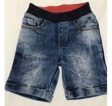 Bermuda jeans PUC tamanho 2 - 12 a 18 meses - PUC