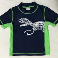 Camiseta praia piscina Carter's com proteção solar UV 50+ Tamanho 6 a 9 meses - 6 a 9 meses - Carter`s