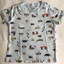 Camiseta Carter's estampa de ursinhos tamanho 18 meses - 18 meses - Carter`s