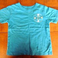 Camiseta Verão Carters  Azul Royal! Salva Vidas Estiloso, Importada - 2 anos - Carter`s