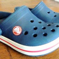 Crocs Azul Marinho ( Importada, tam 8/9)  - Perfeita para o Verão - 24 - Crocs