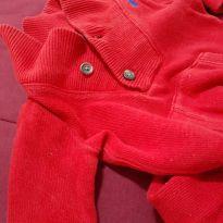 Macacão Ralph Lauren lindo e vermelhinho. - 6 meses - Ralph Lauren