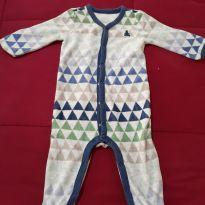 Macacão triângulos marca Baby GAP - 3 a 6 meses - Baby Gap