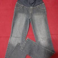 Calça Jeans Gestante semi-nova - M - 40 - 42 - Não informada