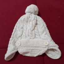 Touca fofinha tricot Baby Gap - 3 a 6 meses - Baby Gap