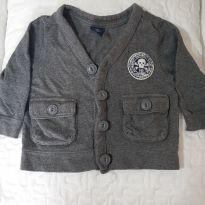 Casaquinho GAP, estilo roqueirinho. - 9 a 12 meses - Baby Gap