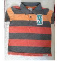 Camiseta pólo Baby Gap colorida - 2 anos - Baby Gap