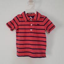 Camiseta pólo nova bebê Carter`s - 3 a 6 meses - Carter`s