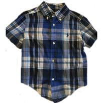 Camisa Ralph Lauren Curta - 2 anos - Ralph Lauren