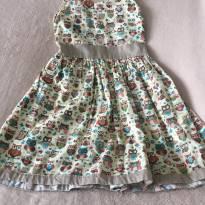 Vestido Corujinha - 3 anos - Sem marca