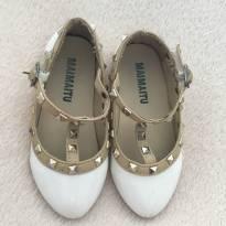 Sapato branco ferragano inspired - 23 - Maimaitu