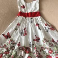 Vestido borboleta - 3 anos - Sem marca
