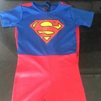 Fantasia Super Homem - 3 anos - Sem marca