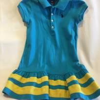 Vestido Ralph Lauren Azul - 3 anos - Ralph Lauren