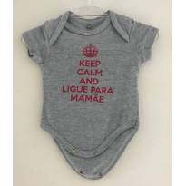 Body Keep Calm - Recém Nascido - Baby Way