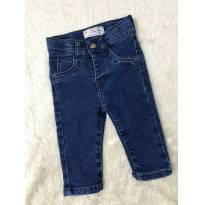 Calça Jeans Baby - 3 a 6 meses - baby Demim