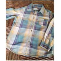 Camisa xadrez Zara - 5 anos - Zara