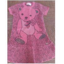 Vestido Ursinho - 6 anos - Pituchinhus