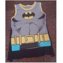 Camiseta e macacão Batman - 6 anos - Sem marca