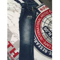 Calça jeans Max Steel - 4 anos - cea e outro
