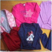 Lote/kit moletom menina tamanho 4 - 4 anos - Malwee e Angerô