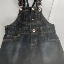 Jardineira jeans - 1 ano - Baby Club