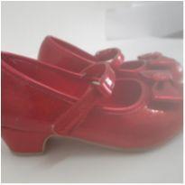 sapato salto vermelho Minie -Disney - 24 - Disney