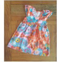 Vestido florido - 3 anos - Kely & Kety