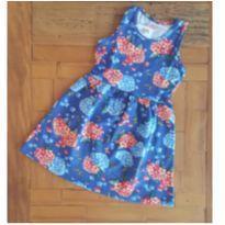 Vestido florido - 3 anos - Alenice