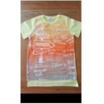 Camiseta amarela - 6 anos - Alenice