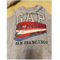 Camiseta Manga Longa GAP São Francisco - 3 anos - Gap Kids