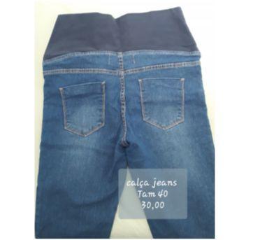Calça jeans gestante - M - 40 - 42 - Riachuelo
